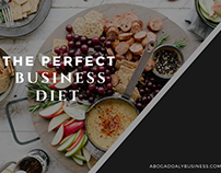The Perfect Business Diet by Abogado Aly