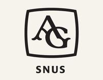 Logomark for AG Snus