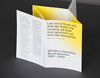 Störfälle in deutschen Atomkraftwerken 1987—2009
