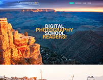 Photographer Home Page Design