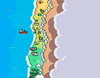 Chile pixelart