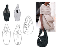 Accessory designs for Rick Owens' Walrus 2017 s/s
