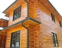 Douglas County Log Home Staining Chinking Maintenance