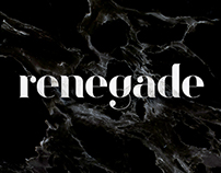 The Renegade - Typeface