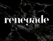 The Renegade - Typeface