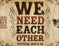 WE NEED EACH OTHER : An Epic Art Collaboration