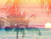 Sun meets ocean