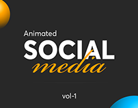 Animated & Static social media designs