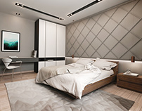 Public Interior Design - Hotel Bedroom Design
