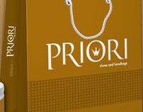 Identidade Visual – Priori Shoes and Handbags