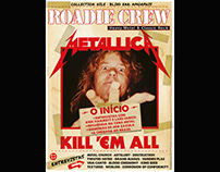 ART DIRECTION - ROADIE CREW MAGAZINES COVERS