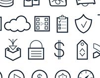 Icon set for thePlatform