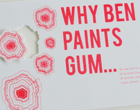 Ben Wilson: The Chewing Gum Man