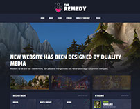The Remedy - WoW Guild Website