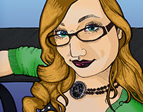 Comic Self Portrait