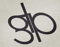 GLP   Typography logo design
