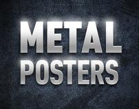 Metal Posters