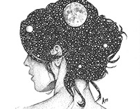 She Holds the Stars