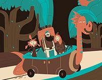 Jungle illustrations