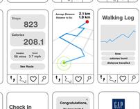 GapWalk Challenge Social Media + App
