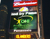 GHI commercial in Times Square