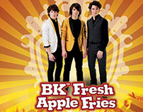 Jonas Brothers and Burger King Partnership