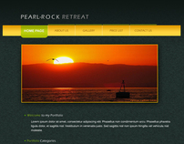 Pearl-Rock Retreat 1- Web Design Template