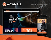 WowMall WordPress Fashion Theme