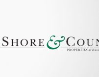 Visual identity for Shore & Country