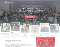 Website Design For Model United Nation