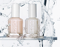 Advertising spread for Essie french manicure