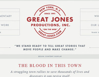 Great Jones Productions, INC.