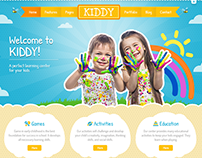 Kiddy HTML Template