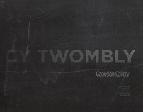 Cy Twombly Poster