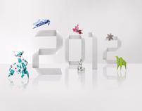 Toshiba 2012 Calendar