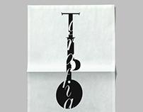 """Poster """"Tipografia"""" - Design Week"""