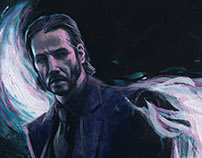 Baba Yaga: Art for John Wick 2