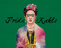 2018, Frida Kahlo, illustration