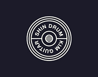 Branding design : shin drum x kim guitar