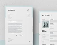 Symbolis Resume / CV & Cover Letter