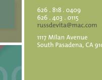 Russel Devita Portfolio Website