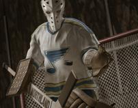 Ice Hockey Goalie: Mike Liut CGI Tribute