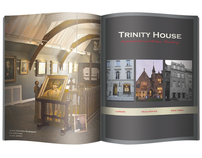 Trinity House Paintings | Promotional Mailer & Vinyl