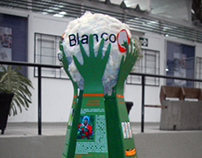 Oro Blanco Display