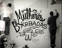 Mulheres Barbadas at Casa do Lado