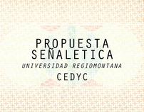 Propuesta Señaletica para CEDYC