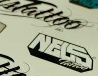 Stickers Nels tattoo