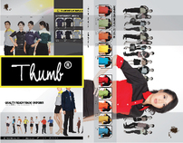 Thumb® Catalogue Design 2012