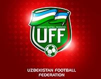 UZBEKISTAN FOOTBALL FEDERATION LOGO