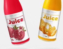 Spot Illustrations for Drink Products